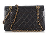 Chanel Small Vintage Black Lambskin Classic Double Flap