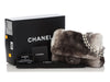 Chanel Gray Chinchilla Fur Flap