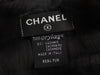 Chanel Black Orylag Rabbit Fur Scarf