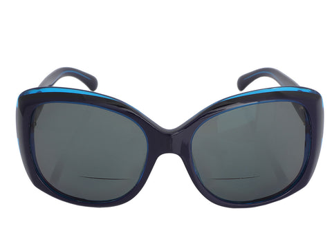 Chanel Blue Reader Sunglasses