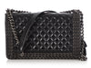 Chanel New Medium Black Quilted Shiny Calfskin Chain-Embellished Boy