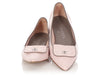 Chanel Light Pink Quilted Turnlock Flats