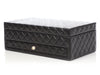 Chanel Large Black Quilted Lambskin Jewelry Box