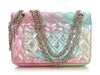 Chanel Iridescent Rainbow Quilted Goatskin Reissue Mini Classic