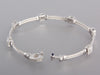 Charriol 18K White Gold Flamme Blanche Bracelet