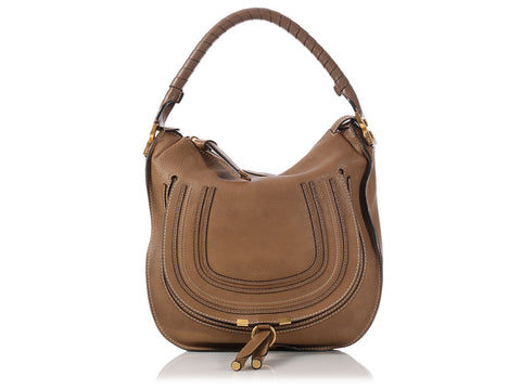 Chloé Medium Brown Marcie Hobo