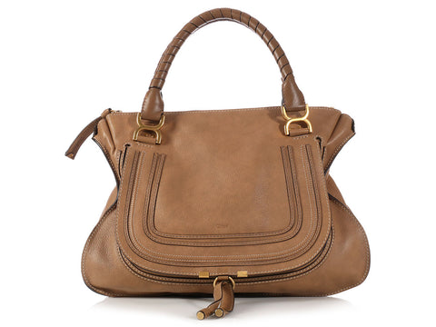 Chloé Large Brown Marcie Bag