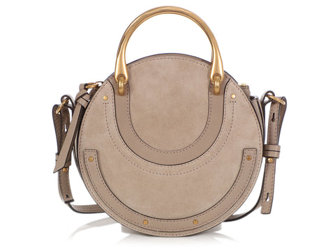 Chloé Small Gray Pixie Bag