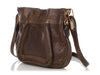 Chloé Coffee Paraty Side Zip Crossbody Bag