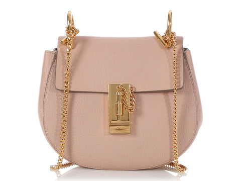 Chloé Mini Pink Drew Bag