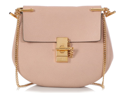 Chloé Small Pink Drew Bag