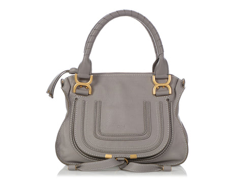 Chloé Small Gray Marcie Satchel