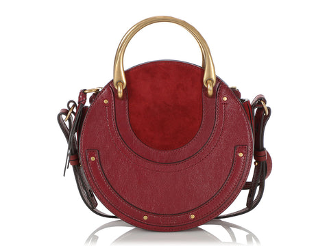Chloé Burgundy Pixie Bag