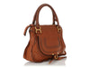 Chloé Medium Brown Marcie Satchel