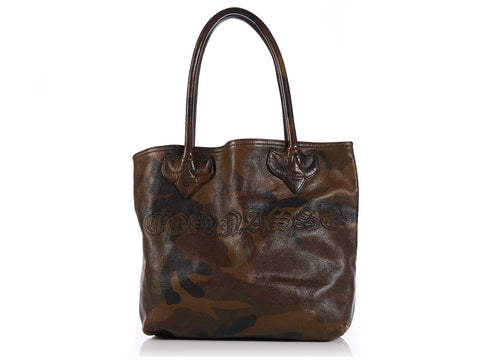 Chrome Hearts Camouflage Leather Tote