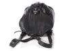 Chrome Hearts Black Leather Mini Backpack