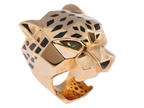 Cartier Large Panthère Head Ring