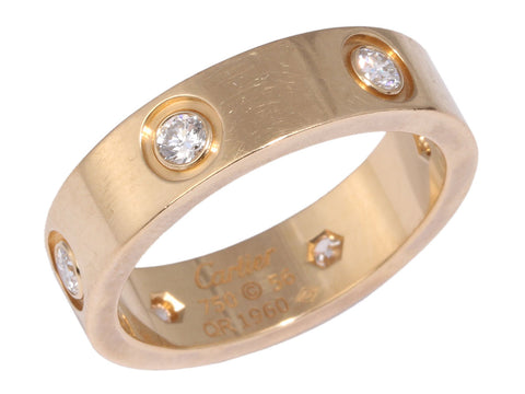 Cartier Six Diamond Love Ring