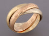 Cartier Tricolor Trinity Ring