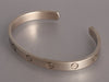 Cartier 18K White Gold Love Cuff Bracelet