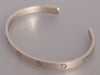 Cartier 18K White Gold Love Cuff