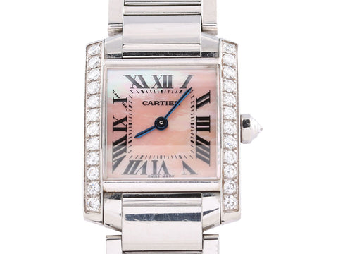Cartier Ladies Diamond Tank Française
