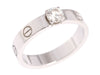 Cartier 0.32 Carat Solitaire Love Ring