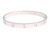 Cartier 18K Four Diamond Love Bracelet