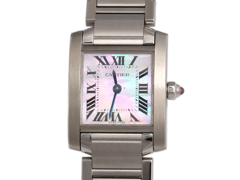 Cartier Tank Française Ladies Watch
