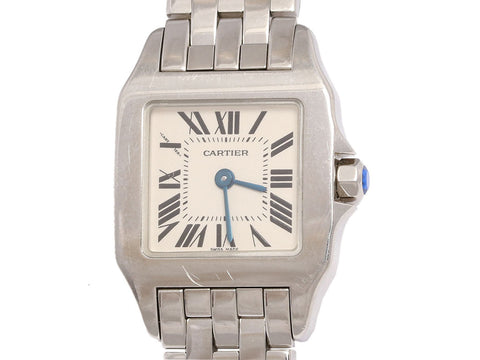 Cartier Stainless Steel Ladies Santos Demoiselle Watch 20mm