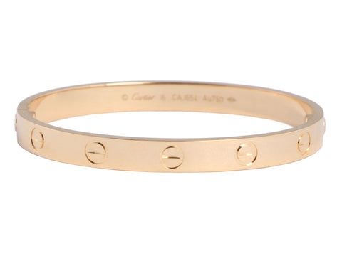 Cartier 18K Yellow Gold Love Bracelet 16