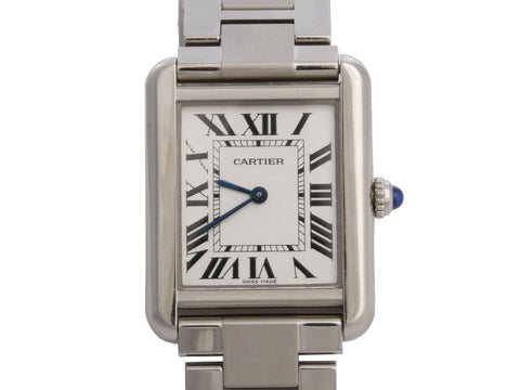 Cartier Stainless Steel Tank Solo Watch