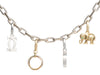 Cartier 18K White Gold Spartacus Bracelet with Charms