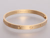 Cartier 18K Yellow Gold Love Bracelet 19