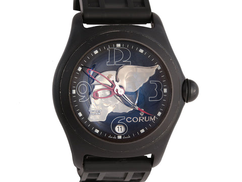 Corum Night Flyer Skull Watch 45mm