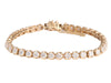 5.50-Carat Diamond Tennis Bracelet
