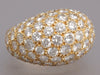 5.0 Carat Diamond and 18K Yellow Gold Dome Ring