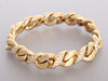 18K Yellow Gold and 2.25 Diamond Chain Bracelet