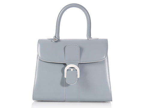 Delvaux Blue Gray Brilliant MM