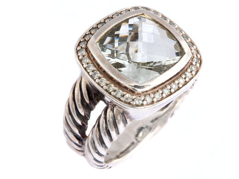 David Yurman Prasiolite Ring