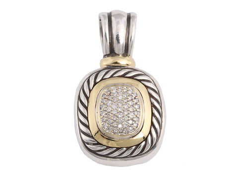 David Yurman Large Diamond Albion Enhancer