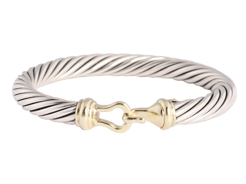 David Yurman Two-Tone Buckle Bracelet