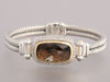 David Yurman Smoky Topaz Diamond Bracelet
