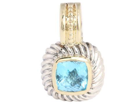 David Yurman Petite Blue Topaz Albion Enhancer