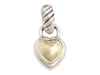 David Yurman Small Two-Tone Heart Pendant