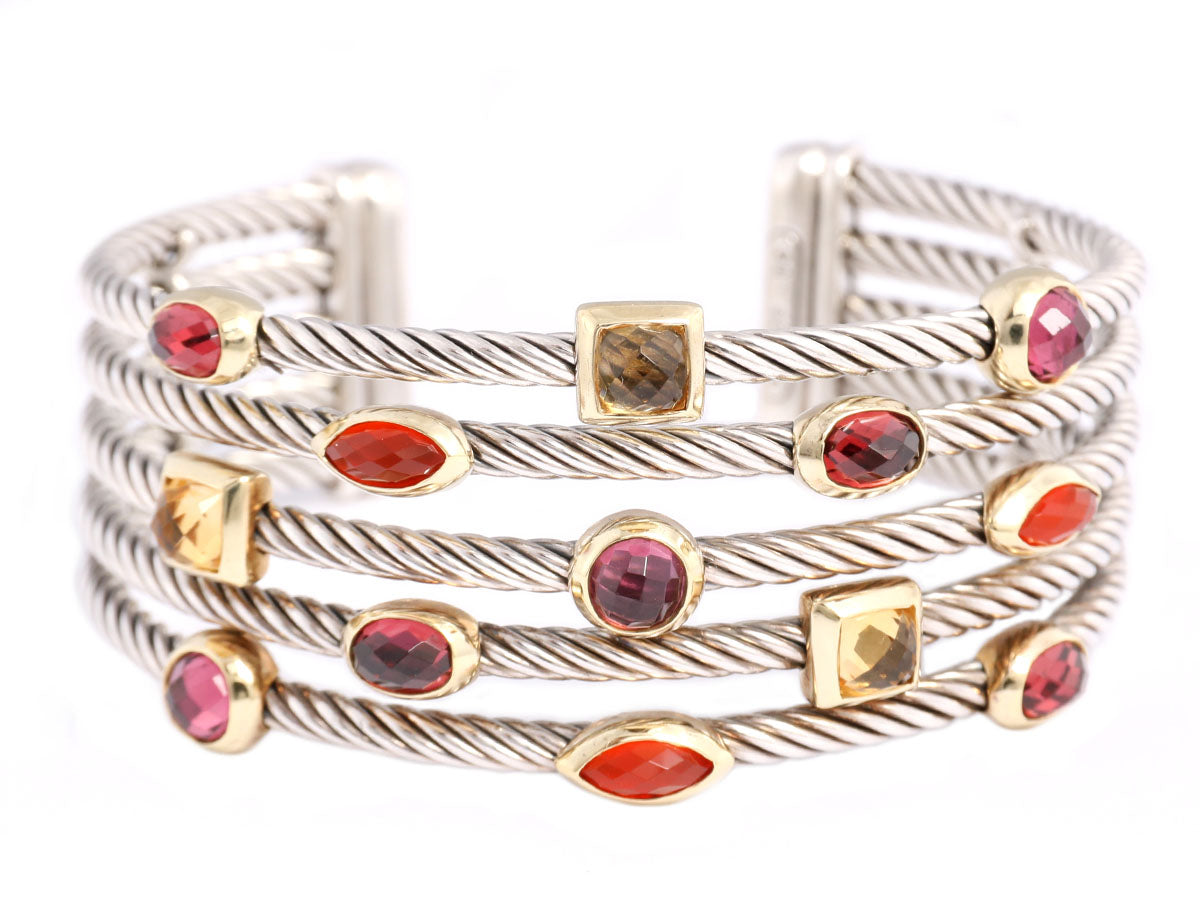 901a0426444b0 On Sale through Sunday ~ Your Weekend Luxe Binge Starts Now! Check out our  special collection · David Yurman Sterling and 18K 5-Row Confetti Bracelet