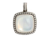 David Yurman Sterling Silver Moonlight Moonstone Diamond Enhancer