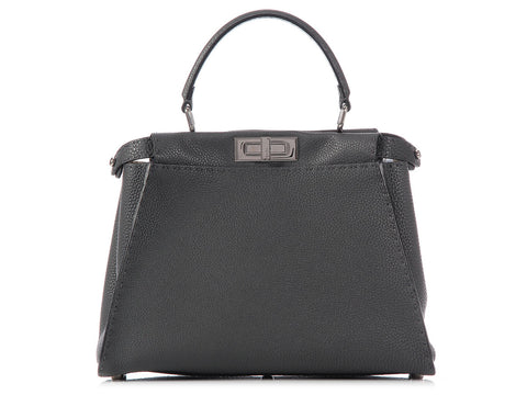 Fendi Gray Regular Peekaboo