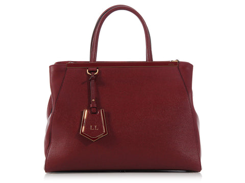 Fendi Medium Burgundy 2Jours