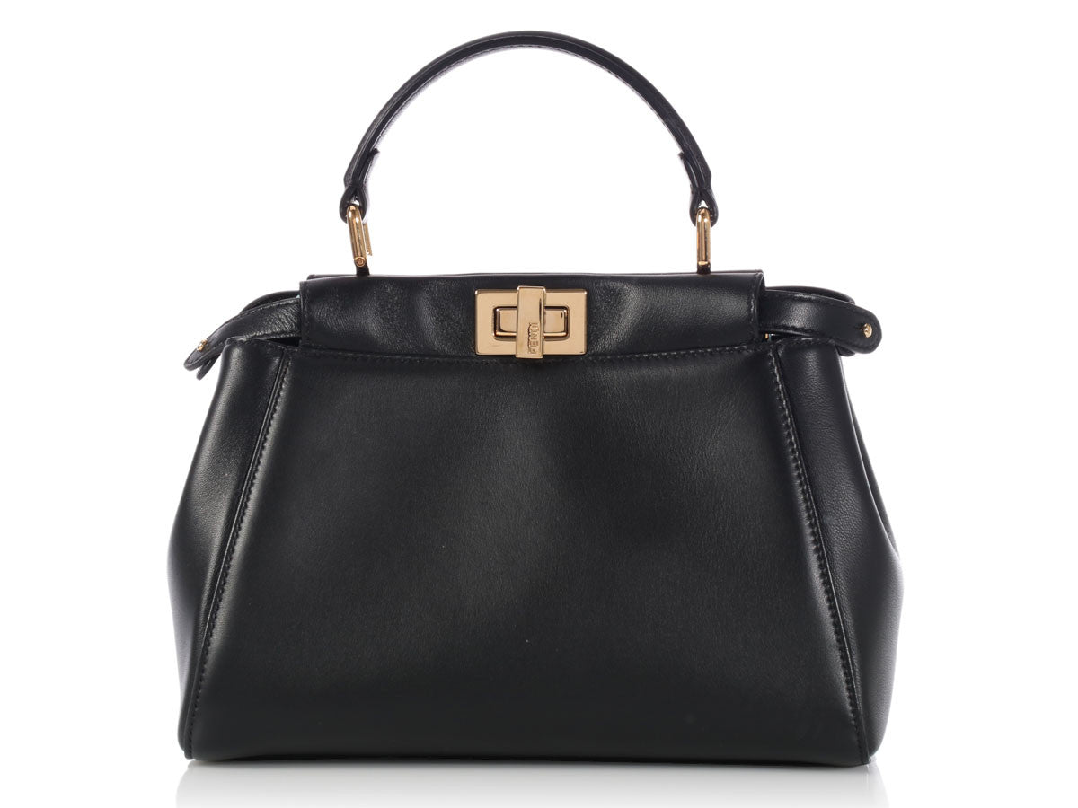 Fendi Black Mini Peekaboo